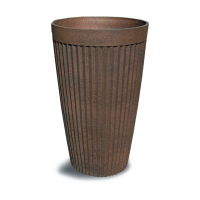 Robert Charles Aged Lite Tall Pot Large Clay Rust