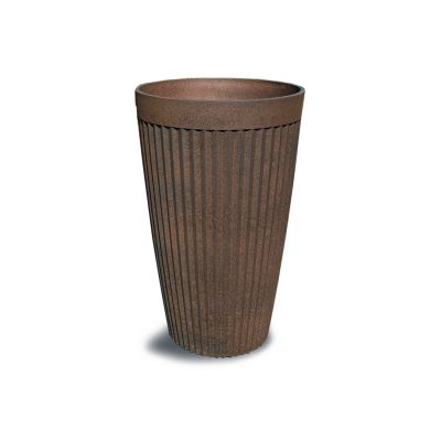 Robert Charles Aged Lite Tall Pot Small Clay Rust