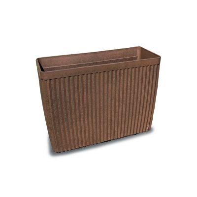 Robert Charles Aged Lite Rectangle Pot Small Clay Rust