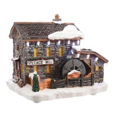 LED Watermill Scene