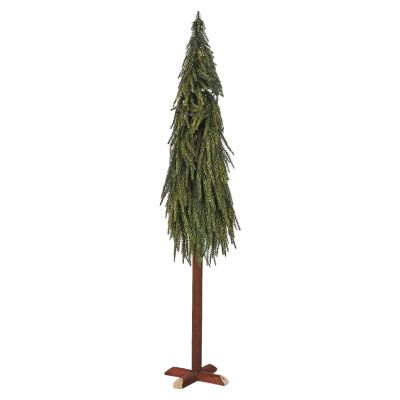 Christmas Tree with Gold Glitter 90cm