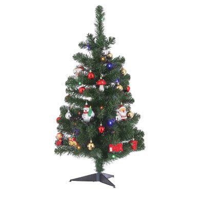Joy Christmas Tree with LED Lights 90cm