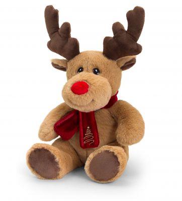 Keeleco Reindeer with  Scarf