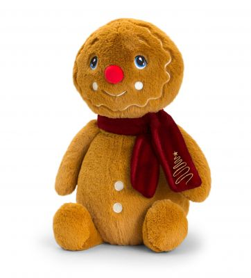 Keeleco Gingerbread Man with Scarf