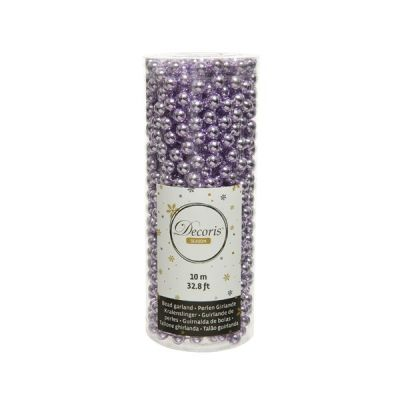 Bead Garland in Frosted Lilac
