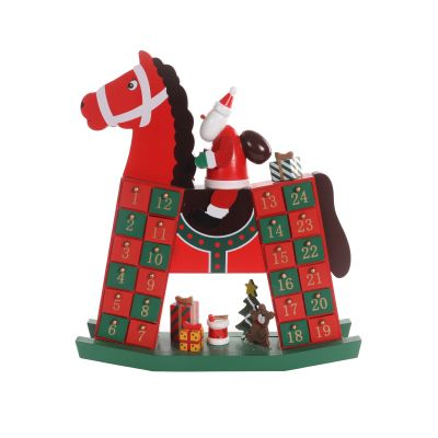 Traditional Rocking Horse Advent Calendar