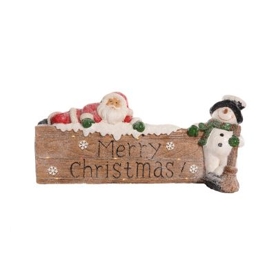 Merry Christmas Sign with LED lights