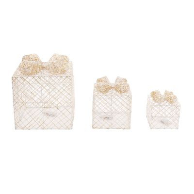 Set of 3 LED Gift Box Set