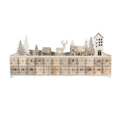 Small Christmas Town Advent Calendar