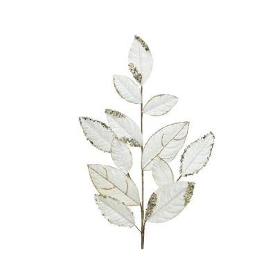 Pearl & Gold Leaf Spray