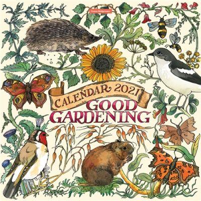 Emma Bridgewater Good Gardening Wiro Wall Calendar 2021