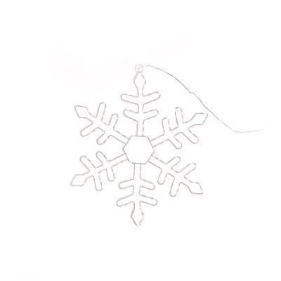 37cm LED Snowflake Silhouette
