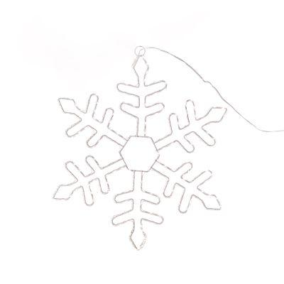 90cm LED Snowflake Silhouette
