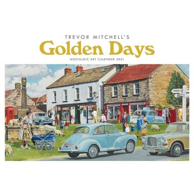 Trevor Mitchell Golden Days, A4 Calendar 2021