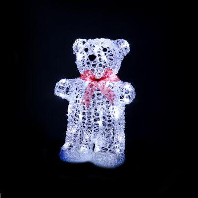LED Acrylic Big Teddy Bear 32cm