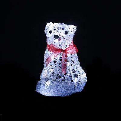 LED Acrylic Bear Buddy 20cm