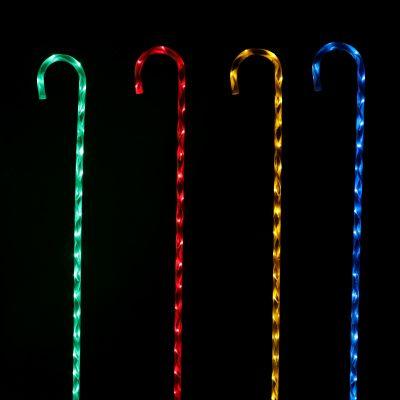 LED Candy Canes Set of 4