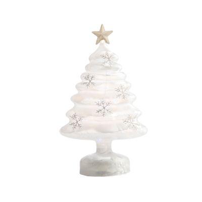 LED Glass Tree 28cm