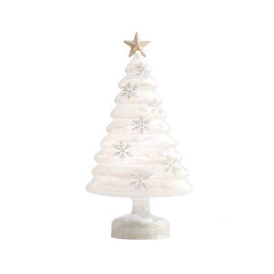 LED Glass Tree 33cm