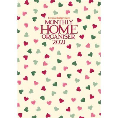 Emma Bridgewater Pink & Green Hearts A3 Planner 2021