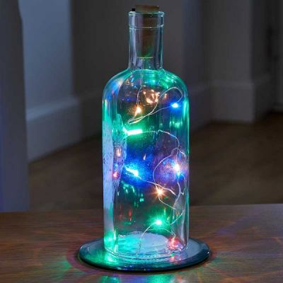 Multi Coloured Bottle It! String Lights