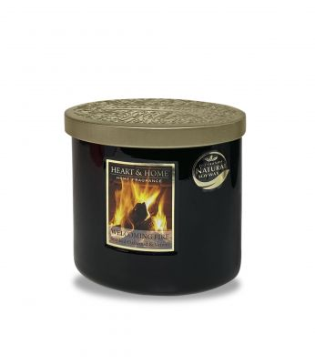 Welcoming Fire Scent Twin Wick Candle