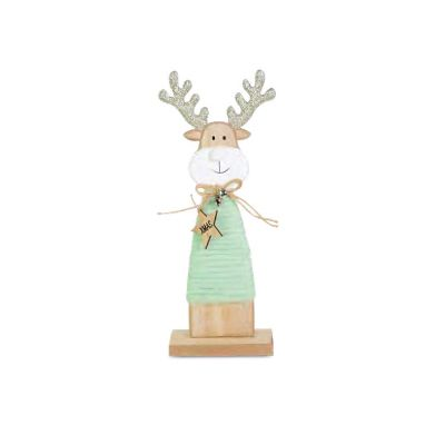 Medium Glittered Reindeer Tabletop Decoration