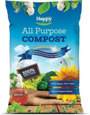 Happy 50L All Purpose Compost