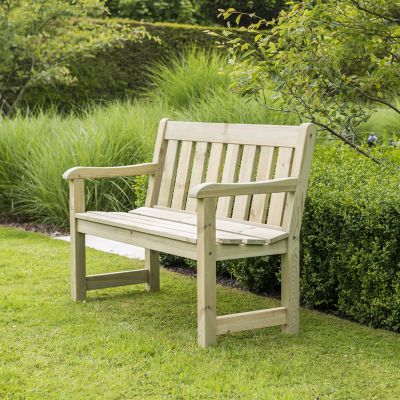 Alexander Rose Pine Marlow Bench 4ft