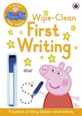 Peppa Pig Wipe Clean First Writing