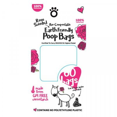 Compostable Poop Bags   Pack of 120 8 Rolls