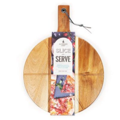 "Alfresco Chef 14"" Acacia Slice & Serve Board"