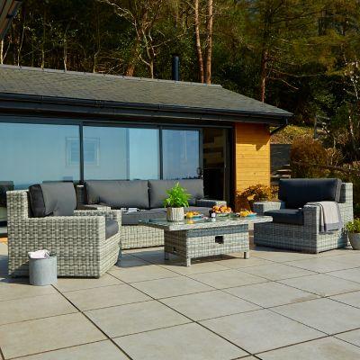 ENJOi Glacier Lounge Set