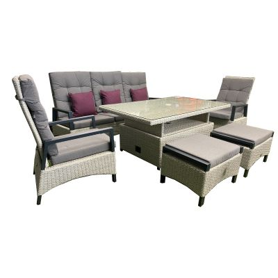 Harbo Paris Lounge Set with Height Adjustable Table (3298)