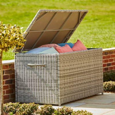 ENJOi Eden Grey Extra Large Cushion Box