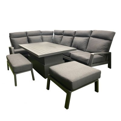 Harbo Tomar Corner Set with Height Adjustable Table (5826)
