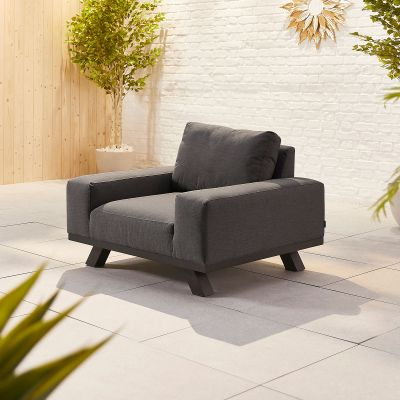 NOVA Tranquility Lounge Chair Dark Grey
