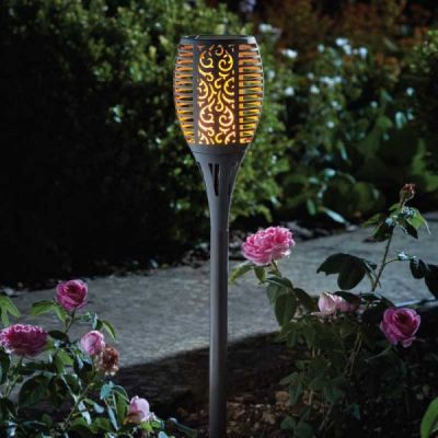 Smart Garden Solar Flaming Torch