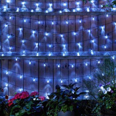 Smart Garden 100 Super Bright Solar String Orb Lights