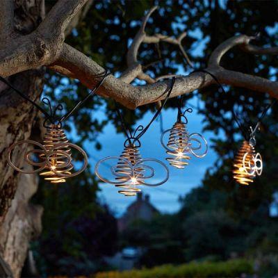 Smart Garden 10 Solar Golden Bee String Lights