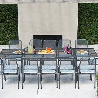 Alexander Rose Portofino 8 Seater Set with Extending Table