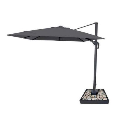 NOVA Galaxy 4m x 3m Rectangle LED Cantilever Parasol with Lights