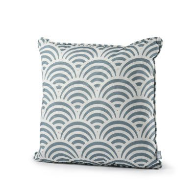 Extreme Lounging Sea Shell Blue Outdoor Cushion