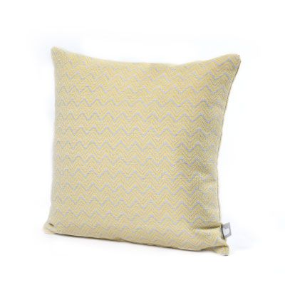 Extreme Lounging Yellow Polines Outdoor Cushion