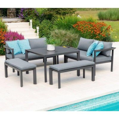 Alexander Rose Portofino Casual Dining Set