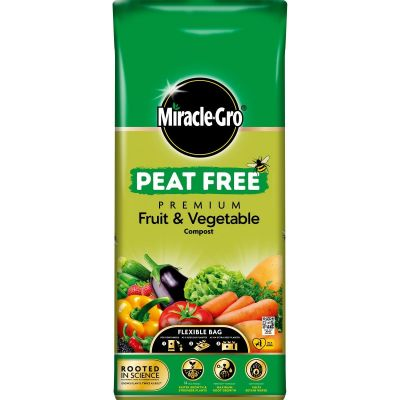 Miracle Gro Fruit and Veg Peat Free 42L