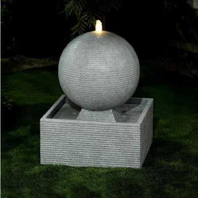 NOVA Axel Water Feature Light Grey