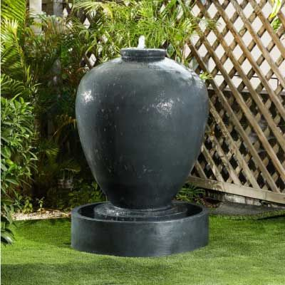 NOVA Noah Water Feature Dark Grey