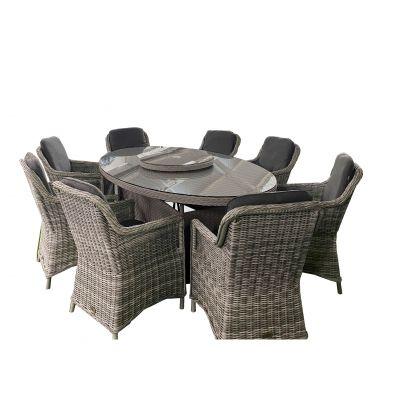 ENJOi Eden Grey 8 Seat Dining Set