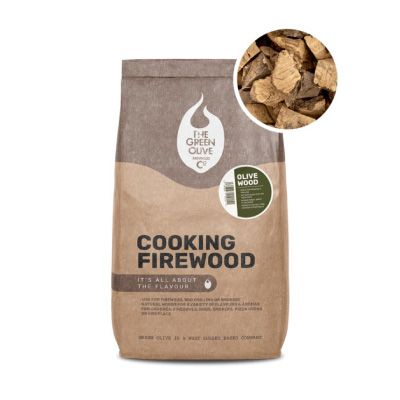 Green Olive Cooking Firewood Chunks 20L